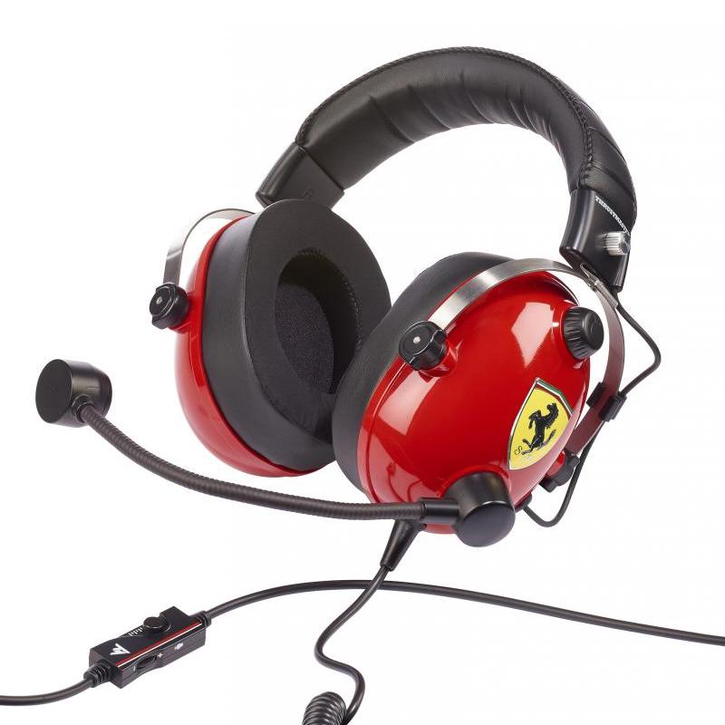 Thrustmaster T-RACING Scuderia Ferrari Edition Gaming Headset