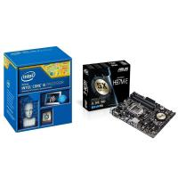 Intel i5 4590 CPU + Asus H97M-E Motherboard Combo