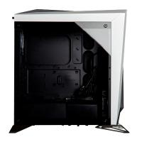 Corsair Carbide Series SPEC-OMEGA RGB Mid-Tower Tempered Glass Gaming Case White and Black