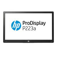 "HP P223a 21.5"" LED 5ms, 16:9 1920x1080 VGA + DP 1.2, 3 Yrs- HEAD ONLY - NO STAND"