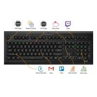Das Keyboard X50Q Smart RGB Mechanical Gaming Keyboard