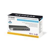 Netgear GS110EMX 8 Port Gigabit Smart Managed Switch with 2 x 10G Uplink