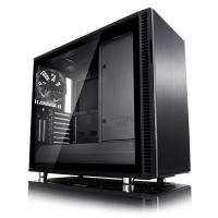 Fractal Design Define R6 USB CTempered Glass Mid Tower EATX Case - Blackout