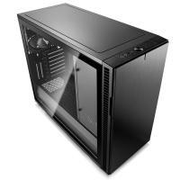 Fractal Design Define R6 USB CTempered Glass Mid Tower EATX Case - Blackout