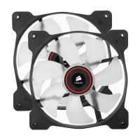 Corsair The Air Series SP 140 LED High Static Pressure Fan Cooling Red Dual Pack
