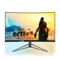 Philips 32in QHD VA 144Hz Curved HDR FreeSync Gaming Monitor (328M6FJRMB)
