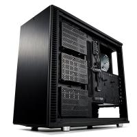 Fractal Design Define S2 Tempered Glass Mid Tower ATX Case - Blackout