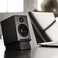 Audioengine 2+ Wireless Desktop Speakers - Satin Black
