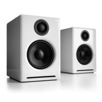 Audioengine 2+ Wireless Desktop Speakers - Gloss White
