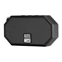 Altec Lansing Mini H20 3 Rugged Portable Bluetooth Speaker - Black (IMW258N-BLK)
