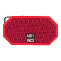 Altec Lansing Mini H20 3 Rugged Portable Bluetooth Speaker - Red (IMW258N-DR)