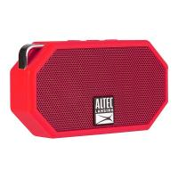 Altec Lansing Mini H20 3 Rugged Portable Bluetooth Speaker - Red (IMW258N-DR)