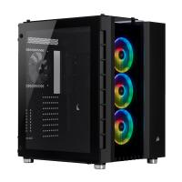 Corsair Crystal 680X RGB Tempered Glass Mid Tower EATX Case - Black