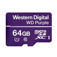 Western Digital Purple 64GB C10 80MB/s Surveillance MicroSDXC Card