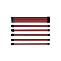 CoolerMaster Sleeved Extension Cable Kit - Red and Black