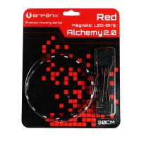 Bitfenix Alchemy 2.0 Red Magnetic LED Strip - 600mm