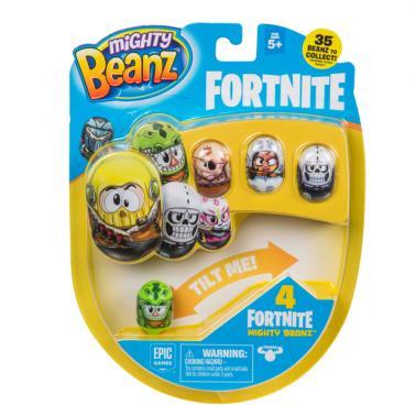 Mighty Beanz Licensed Season1 Fortnite 4 Pack - Umart com au