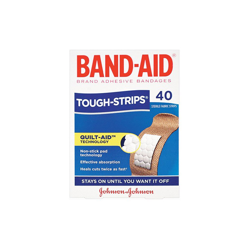 PK40 BANDAID TOUGH STRIPS BE