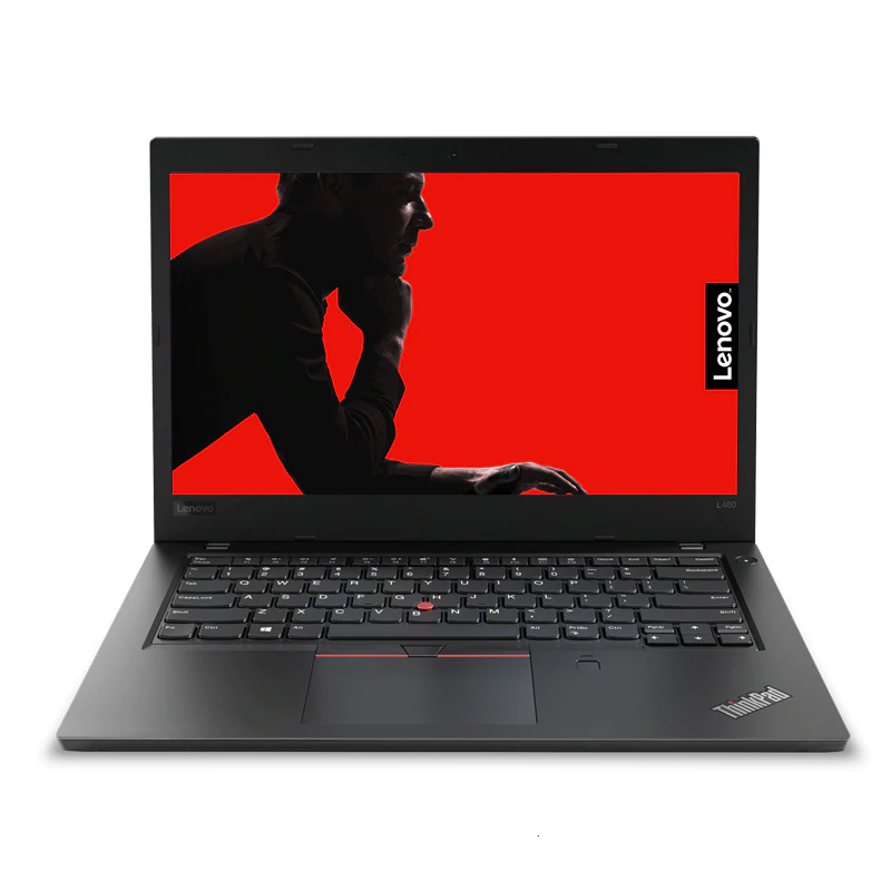 "Lenovo ThinkPad L480 14"" FHD IPS AG i5-8250U 128GB SSD 4GB RAM W10H WLAN BT FP Cam USB-C Laptop"