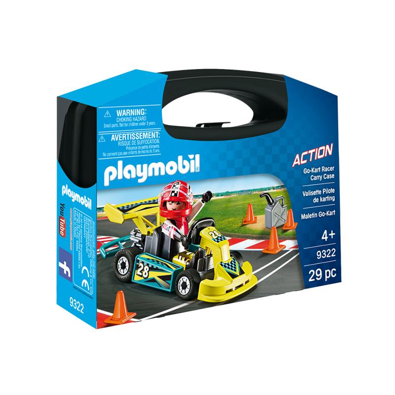 Playmobil Go Kart Racer Carry Case