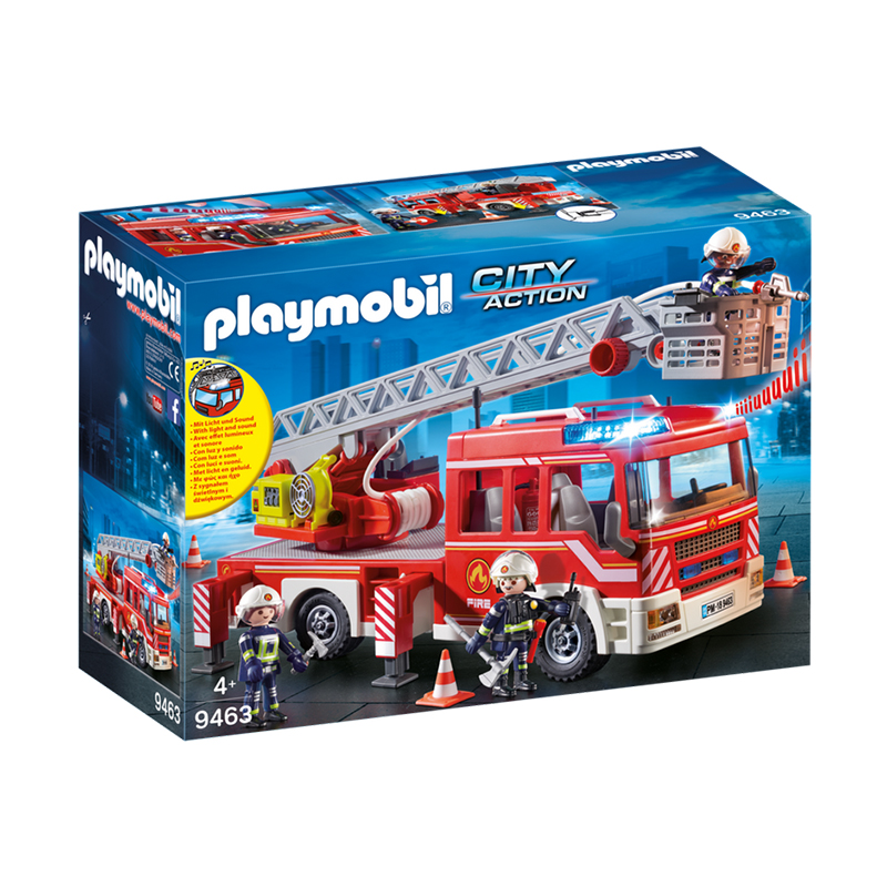 Playmobil Fire Engine with Ladder