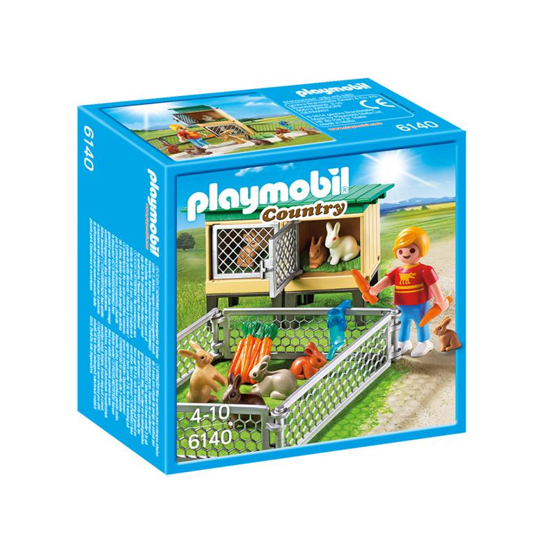 Playmobil Rabbit Pen with Hutch