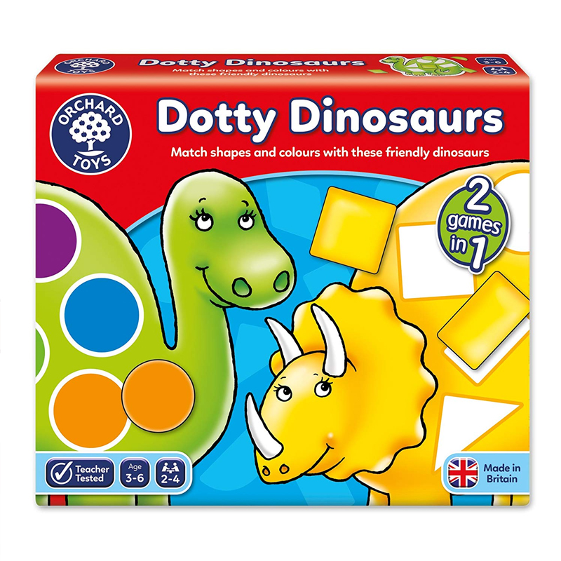 Orchard Game Dotty Dinosaurs