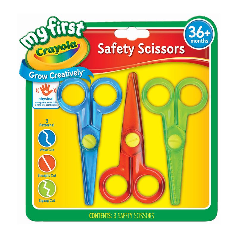 Crayola 3 My First Safety Scissors