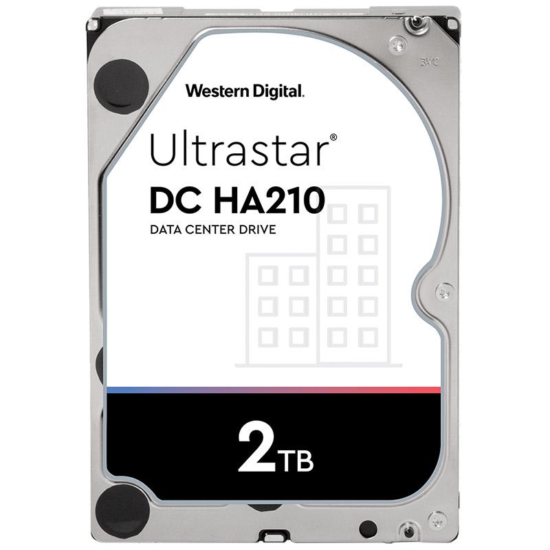 Western Digital 2TB Ultrastar Enterprise DC HA210 3.5in SATA 7200RPM Hard Drive - (1W10002)