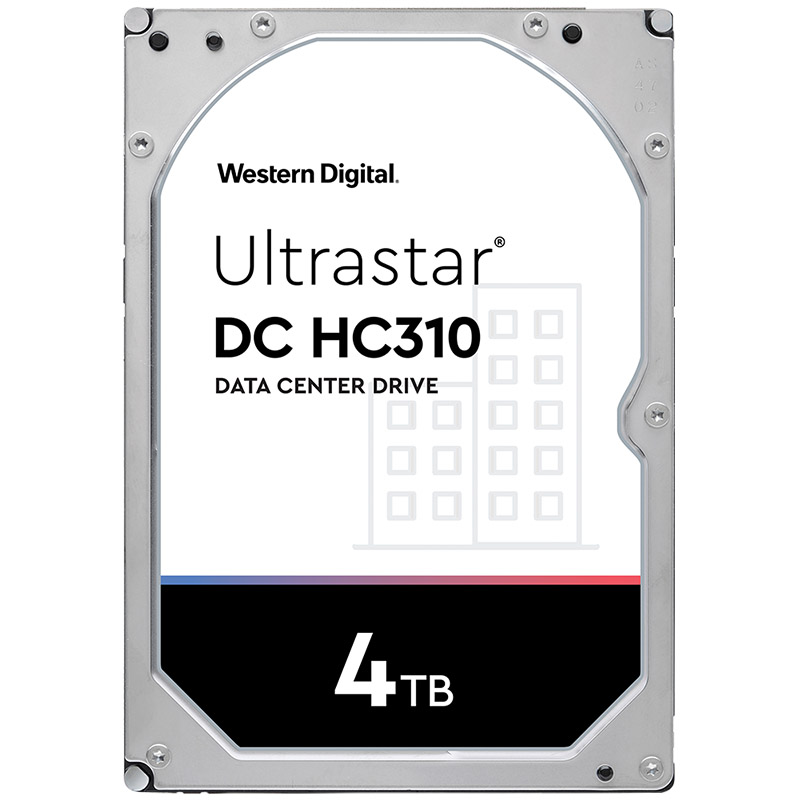 Western Digital 4TB Ultrastar Enterprise DC HC310 3.5in SATA 7200RPM Hard Drive - (0B35950)