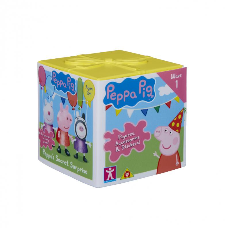 Peppa Pig Secret Surprise Cube Assorted