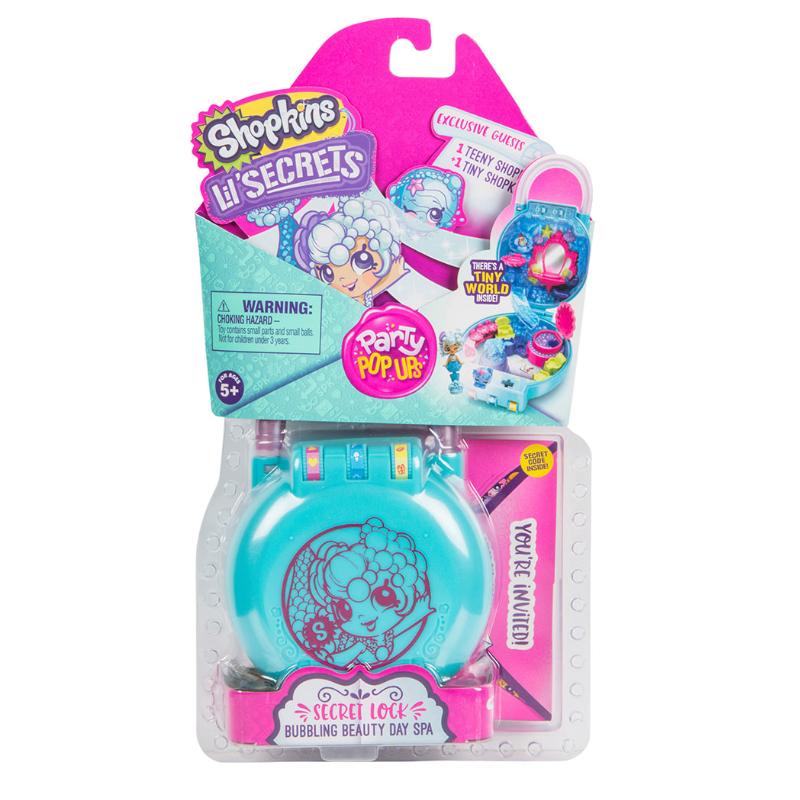 Shopkins Lil' Secret Season 2 W1 Mini Playset Assorted