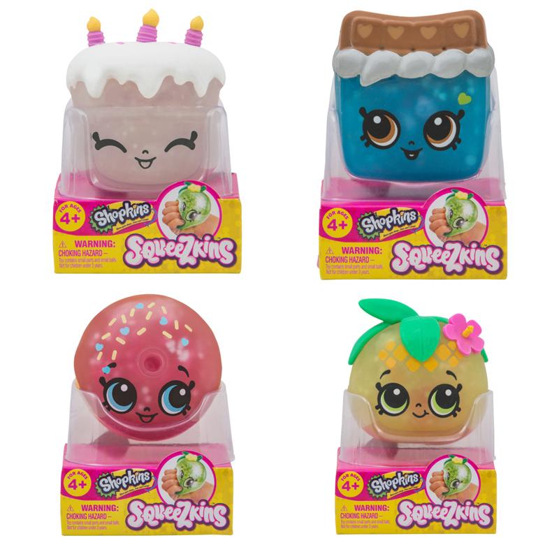 Shopkins Squeezkins Season 1 W1 Single Pack Assorted