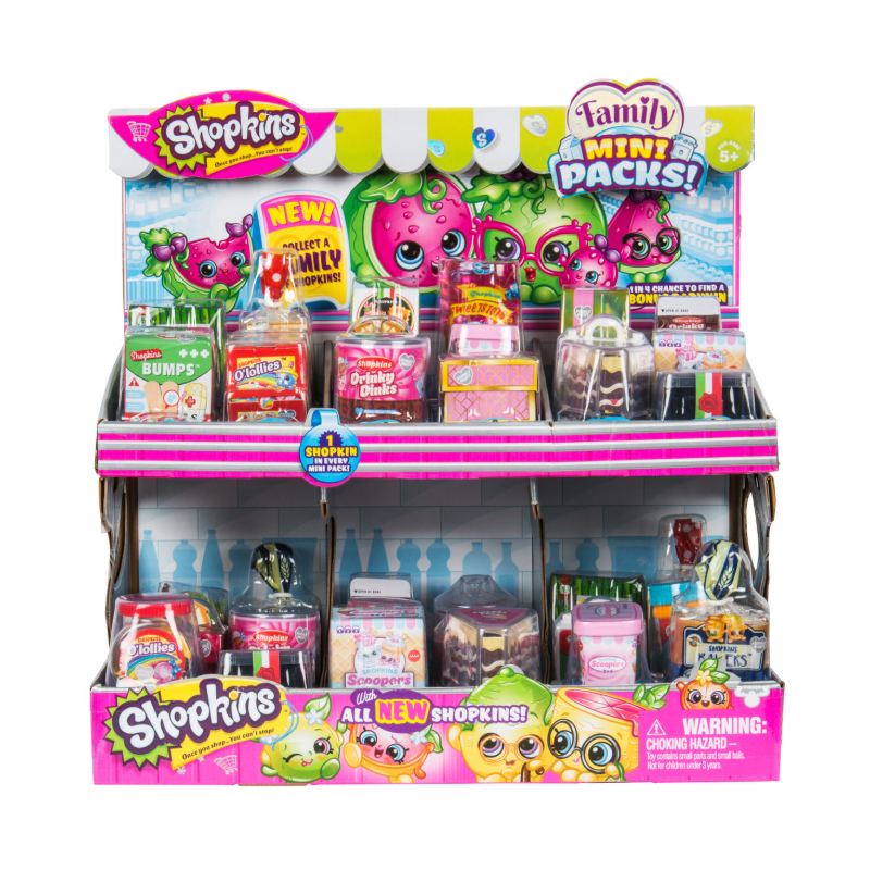 Shopkins Season 11 Mini Pack Assorted