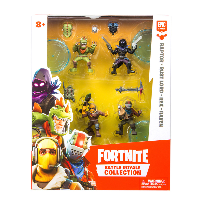 Fortnite Season 1 Squad Figure Pack