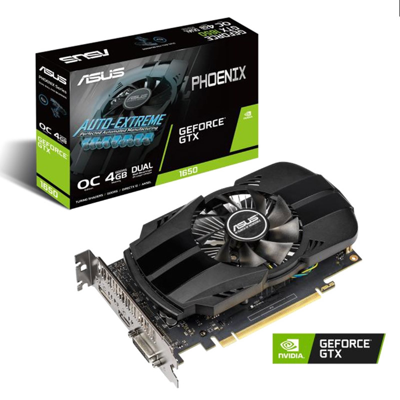 Asus GeForce GTX 1650 Phoenix 4G OC Graphics Card