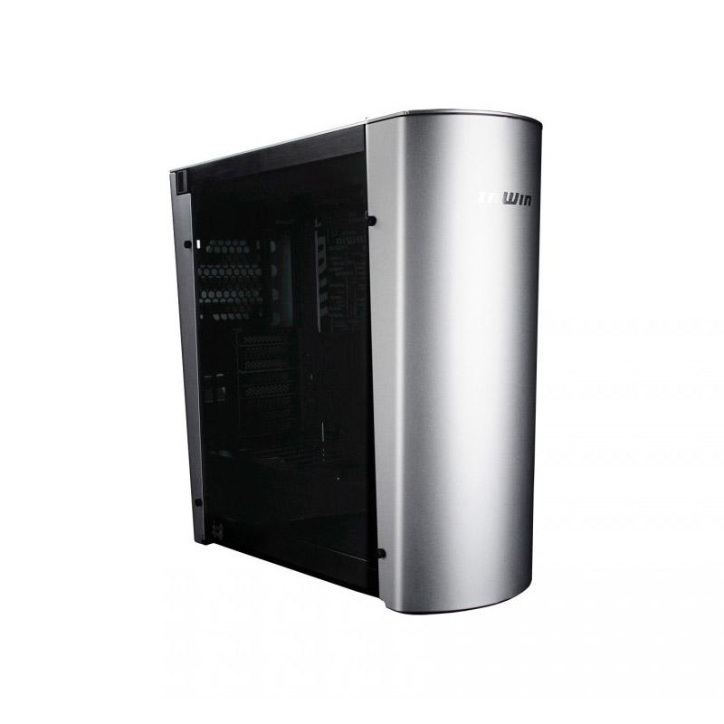 Inwin 915 Aluminium Tempered Glass Full Tower EATX Case - Silver