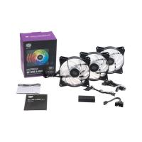 Cooler Master 120mm MF120R Addressable RGB Fan with Controller - 3 Pack