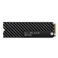 Western Digital Black 500GB SN750 NVMe SSD with Heatsink (WDS500G3XHC)