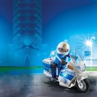 Playmobil Police Bike with LED Light