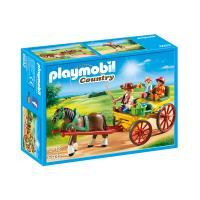 Playmobil Horse-Drawn Wagon