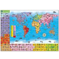 Orchard Jigsaw World Map Puzzle & Poster 150pcs