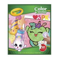 Crayola Color & Sticker Book Shopkins