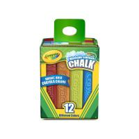 Crayola 12 Washable Sidewalk Chalks