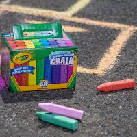 Crayola 48 Washable Sidewalk Chalks
