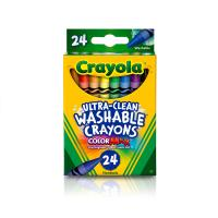 Crayola 24ct Ultra-Clean Washable Crayons