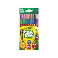 Crayola 24 Silly Scent Mini Twistables Crayons