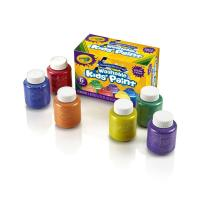 Crayola 6 Washable Glitter Paint