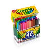 Crayola The Big 40 Washable Markers