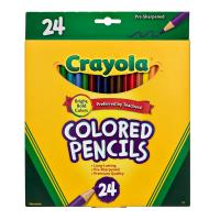 Crayola 24 Full Size Colored Pencils
